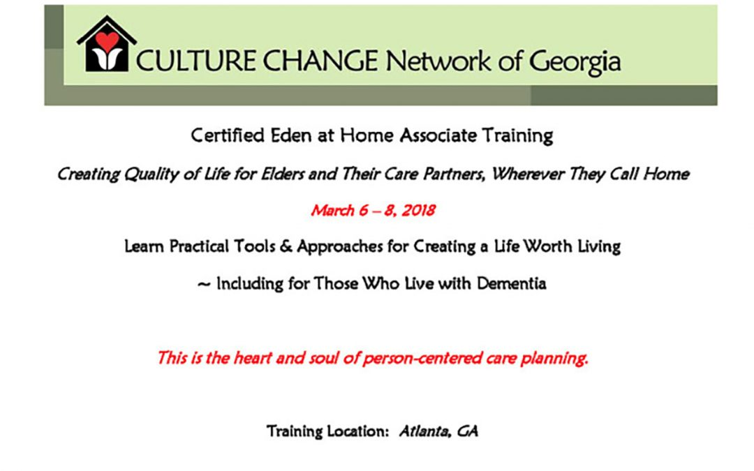 Culture Change Network of Georgia