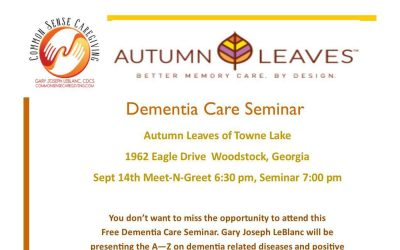 Dementia Care Seminar
