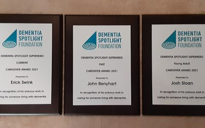 Superhero Caregiver Award Winners